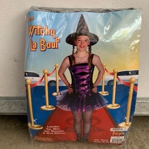 Teen Witchy La Bouf Purple Witch Tutu Costume